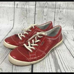 Josef Seibel Red Snickers Size 42/ 11